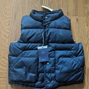 NEW Baby Gap 2T puffer vest navy
